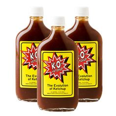 K.O. Ketchup Like 3 Pack now featured on Fab.
