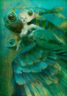 ღTurquoise Fantasy Artღ