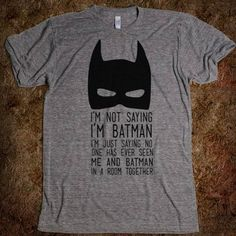 SO going to DIY this Batman mask silhouette...Enid Coleslaw, anyone?