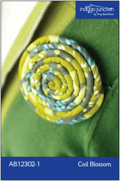 Coil Blossom ePattern | Craft Pattern | YouCanMakeThis.com