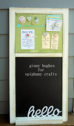 Great way to keep everyone organized and make your own matching thumbtacks with #EpiphanyCrafts! http://epiphanycrafts.com/back-to-school-organization-with-epiphany-crafts/