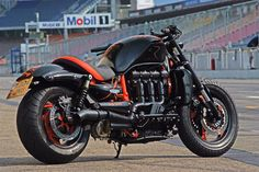 That's a beast! (triumph rocket iii)  I would love to have one.