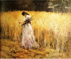 Eliseu Visconti. An absolutley stunning painting