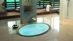 Kasch Floor Waterfall Bathtubs