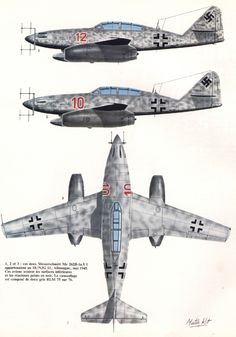 Me 262 night fighter