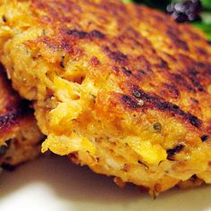 Salmon patties great as a dish on its own or make it into a burger.. Salmon Patties Recipe from Grandmothers Kitchen.