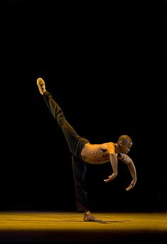 Eric Underwood with The Royal Ballet