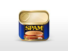 Spam App Icon by Julian Burford. 25 Cleaver Mobile App Icons. #icon #app #mobile #design