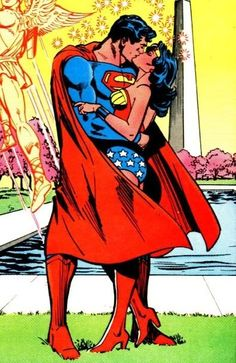 Wonder Woman loves Superman<3