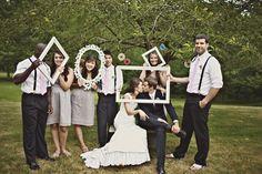 Vintage outdoor wedding
