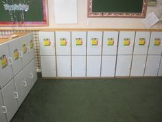 day care cubbies!!