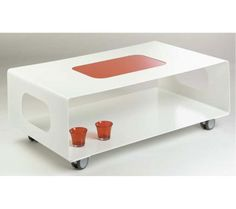Tables basses - Table basse vitree ...