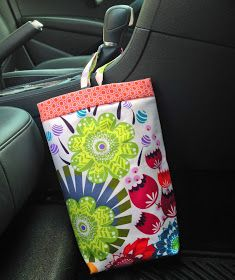 A Ditchin' Time Quilts: Car trash bags can be pretty!