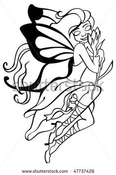 http://www.shutterstock.com/pic-47737426/stock-vector-outlined-vector-image-of-fairy-with-butterfly-wings.html