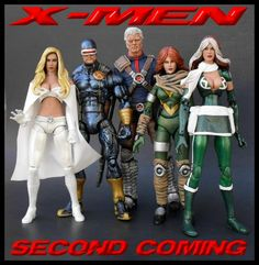 CC27: Marvel Legends X-Men Second Coming Series 1 by K Customs | TheFwoosh.com marvelici misc, action figurin, da marvel, marvel figur, dc figur, misc toy, boneco da, marvel legend