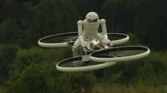 Forget motorcycles! Hoverbikes are in the works.