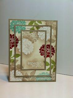 Stampin Sunshine: Triple Time Stamping stamp sets, time stamp, secret gardens, tripl time, color combos, green crafts, fall cards, scrapbook paper, stampin sunshin