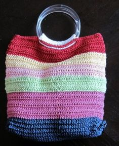 Crochet Tote Bag: free pattern