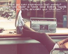 Great music quote. YES!!