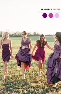 The Perfect Palette: 5 Mix + Match Bridesmaid Looks You'll Love!