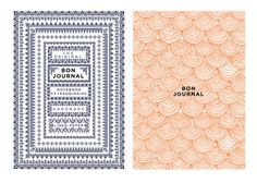 Bon Journal by Ben Grib, via Behance