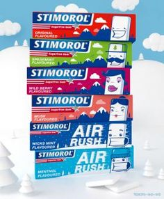 One of the amazing designs of over 50 designs submitted thus far for the Stimorol Packaging design contest at Springleap.com. 4 Days left to submit and vote - win $2800!!!