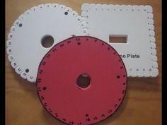 ▶ Como hacernos los discos redondo y cuadrado de Kumihimo.