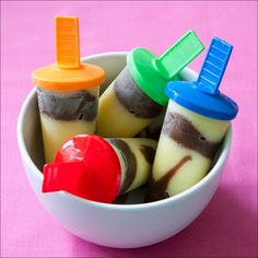 frozen pudding popsicles | ... Food Photography, Recipes and Travels: Homemade Jell-O Pudding Pops