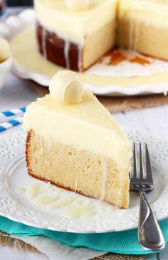 White Chocolate Truffle Cake Recipe