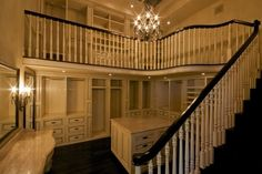 two story closet. Amazing.