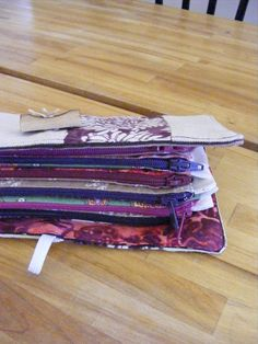 DIY Wallet for Cash Envelope Systems   I'm making this right now!