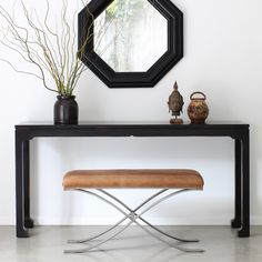 "Redford House Morris Console Table @Layla Grayce 66""W"