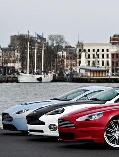 The Aston Martin family.