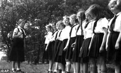 Girls in the Hitler youth were taught how to be a good wife and good mother to children. They were also encouraged to marry a healthy strong soldier and to have kids. Hitler wanted him to be carried on with the next generation and wanted them to carry on the nazi party.
