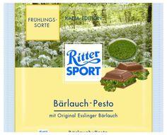 RITTER SPORT Fake Schokolade Bärlauch-Pesto