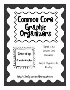 This FREE download contains a couple of the graphic organizers from my most recent TpT product: Common Core Graphic Organizers for Reading.  If you...
