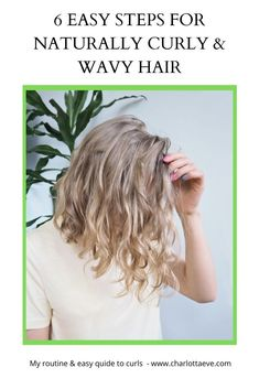 Treating those natural curls is simple! Check out my easy quide to curls and waves. #hair #curlyhair #wavyhair #beauty #beautyblog #curlygirlmethod