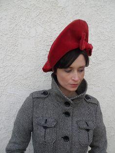 hat bonnet, velvet hat, glorious hat, vintag hat, bonnet hat