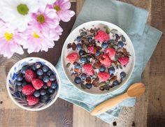 Bircher muesli/overnight oats-ish