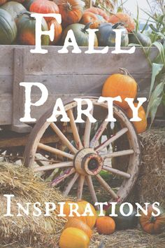 Fall time party.
