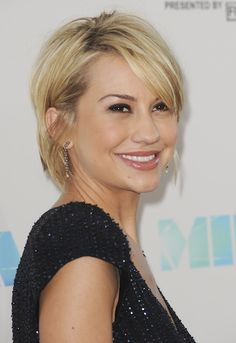 Chelsea Kane.  This is sort of a short look with longer hair.