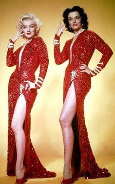 Red - Gowns - Marilyn & Jane
