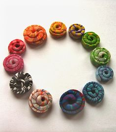 polymer clay by carol.capaldi. Inspiration