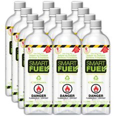 Liquid Bio-Ethanol Fuel 12 Pack, $84, now featured on Fab.