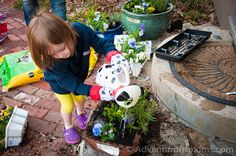 9 Reasons to Garden With Your Kids! Gets them outdoors, makes family memories and more!  adventurousmoms.com