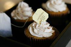 Chai cupcakes!