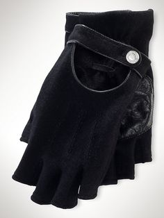 Just bought these yummy Ralph Lauren fingerless gloves! I'd ideally want some in quilted leather in the future though...