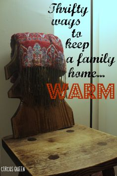 Keeping warm and cheerful on a budget
