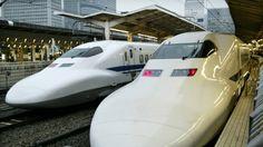 Japan bullet trains: