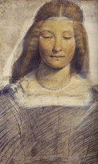 """Leonardo da Vinci """"Lucrezia Borgia"""" 1498"""